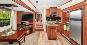 Jayco Eagle HT fifth wheel interior