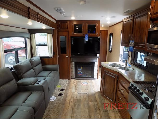 Jayco Eagle Travel Trailer Living Area
