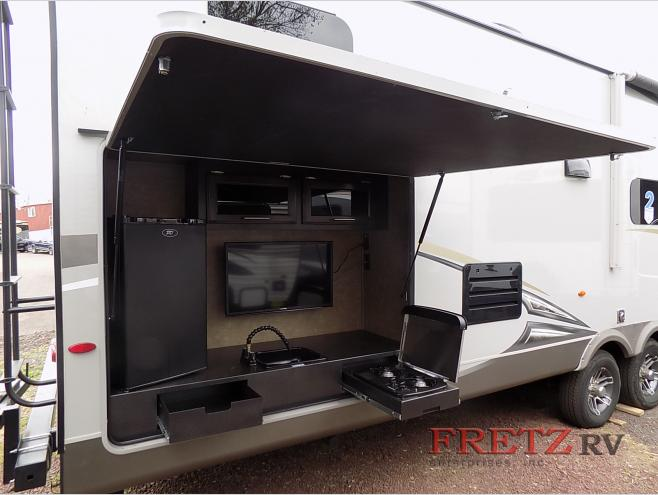 Jayco Eagle Travel Trailer Outdoor Kitchen