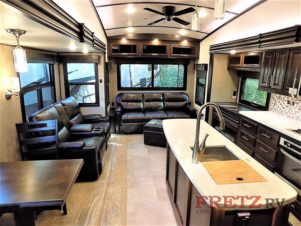Jayco North Point Fifth Wheel Interior