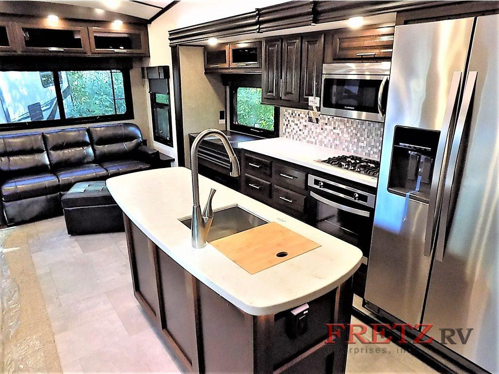 Jayco North Point Fifth Wheel Kitchen