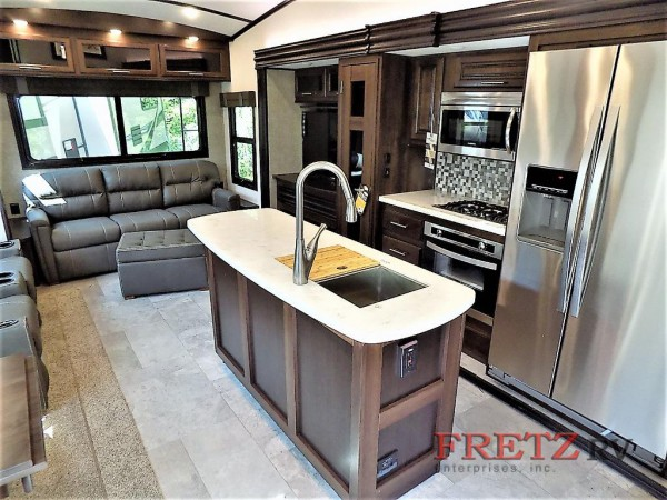 North Point fifth wheel Living Space