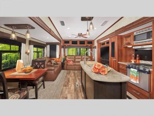Jayco Eagle Fifth Wheels Interior