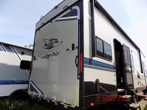 Jayco Octane Toy Hauler Rear