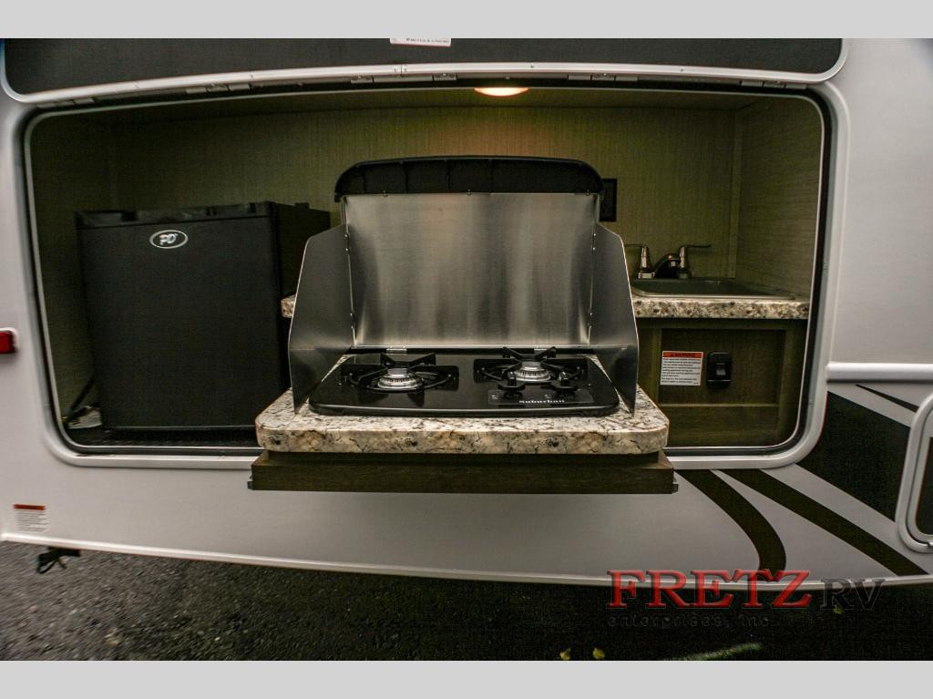 Jayco Redhawk Outdoor Kitchen