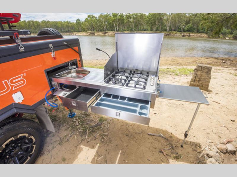 OPUS Folding Pop-Up outdoor kitchen