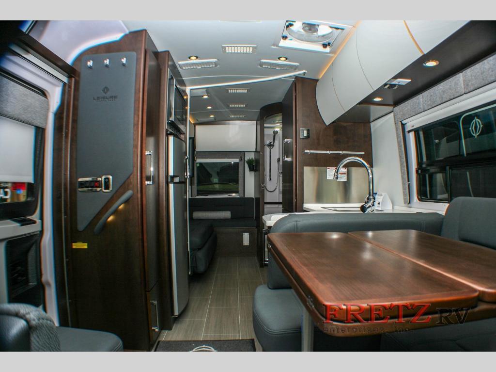 Class B+ Motorhome interior space