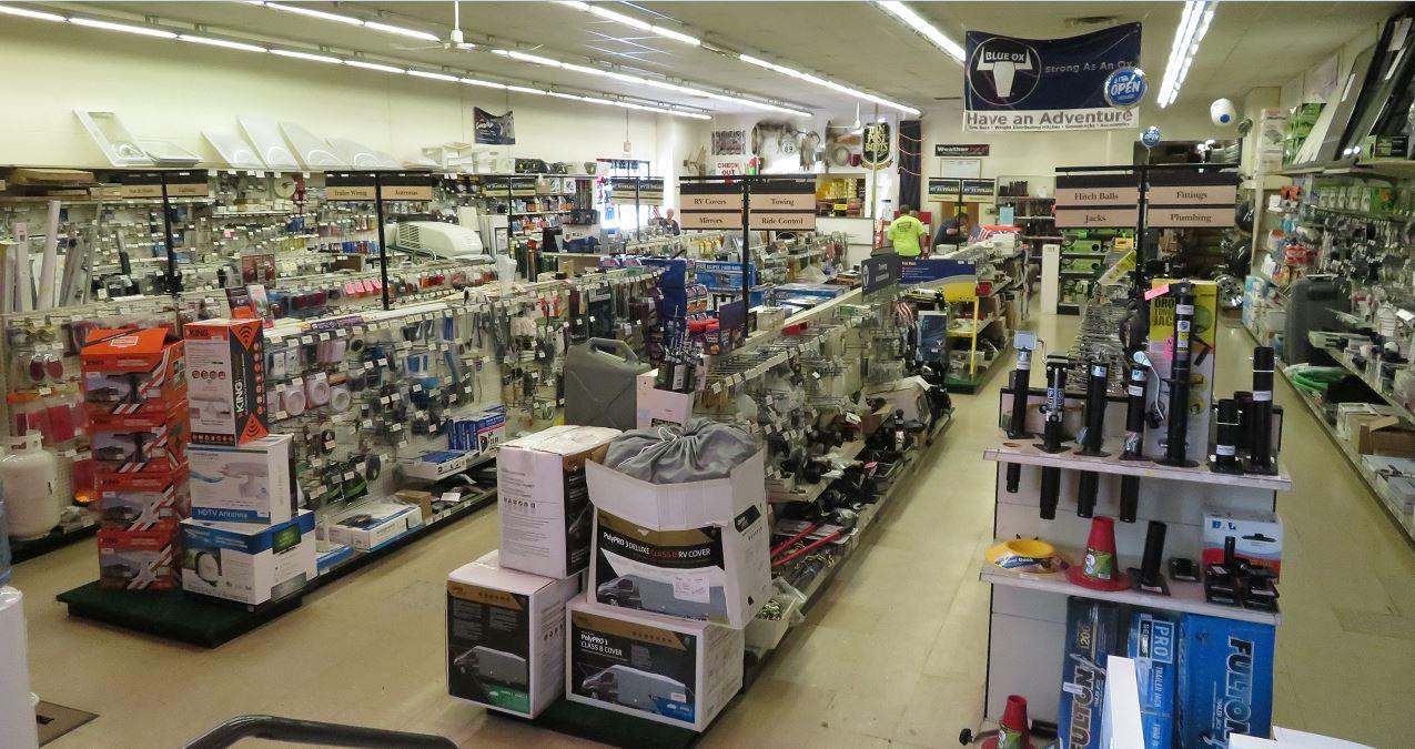 Fretz RV Parts Store